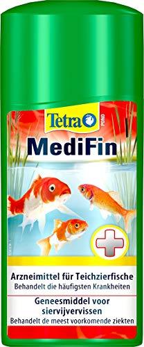 Tetra Pond MediFin - Medikament für Teichfische gegen die häufigsten Krankheiten, auch zur Vorbeugung und Desinfektion, 500 ml Flasche